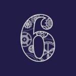 6 O'clock Gin logo