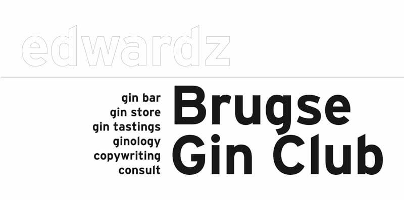 edwardz Brugse Gin Club