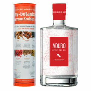 Aduro Devil's Tail Gin & my-botanicals Spicy Infusion Tube
